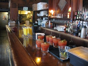 Bloody Mary's for breakfast!