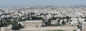 View of Tunis from Ruins of Carthage
