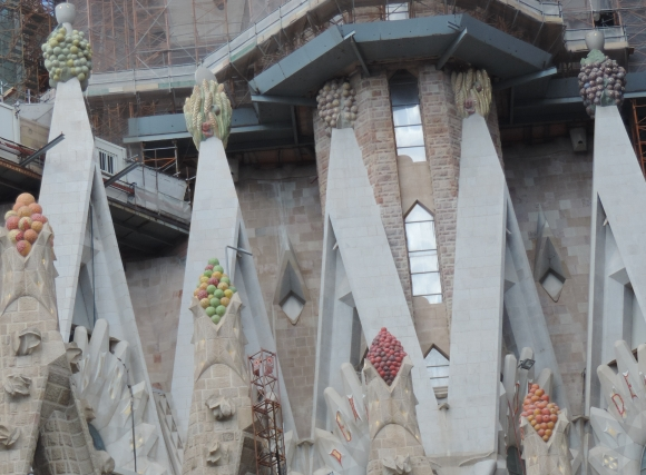 New work on La Sagrada Familia