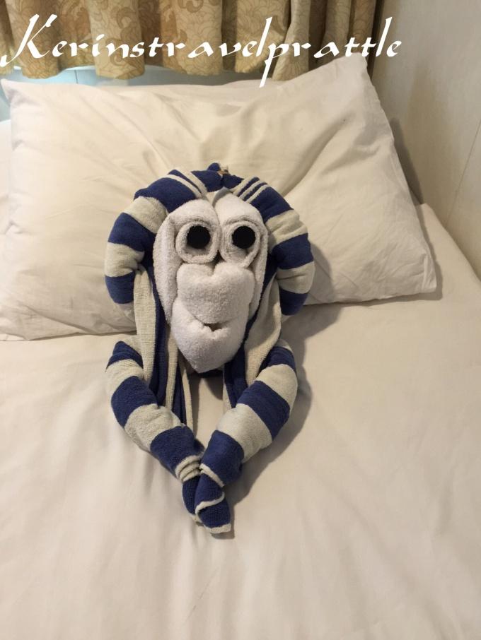 Troys Towel animal 1
