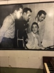 Elvis, Jerry Lee Lewis, Carl Perkins and Johnny Cash