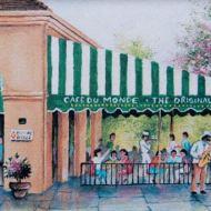 Cafe Du Monde drawing